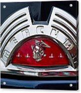 Close-up Of A Mercury Classic Car Of Acrylic Print