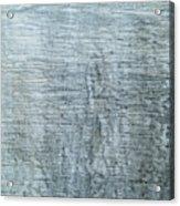 Close-up Of A Metal Wall Surface Acrylic Print