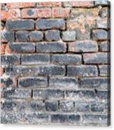 Close-up Of Old Brick Wall Acrylic Print