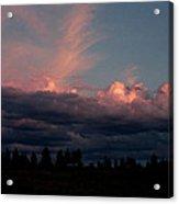 Sunlight On The Cloud Tops Acrylic Print