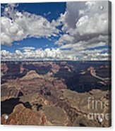 Clouds Over Grand Canyon Acrylic Print