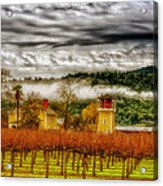 Clouds Over Napa Valley Acrylic Print