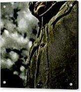 Cloudy Captain Acrylic Print