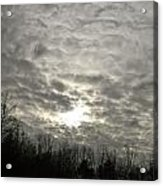 Cloudy Day  Acrylic Print