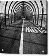 Clydeside Walkway Acrylic Print