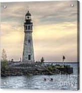 Coastguard Lighthouse Acrylic Print