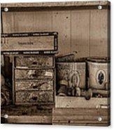 Cobblers Tobacco Acrylic Print