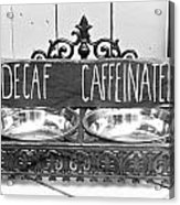 Coffee Bean Holder Acrylic Print