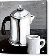 Coffee's On Acrylic Print
