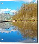 Coldwater Lake Acrylic Print