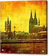 Cologne Acrylic Print