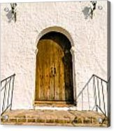 Colonial Door Acrylic Print