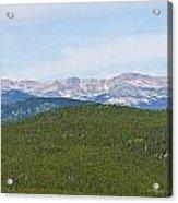 Colorado Continental Divide 5 Part Panorama 1  Acrylic Print