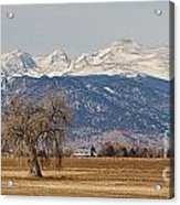 Colorado Front Range Continental Divide Panorama Acrylic Print by James BO  Insogna