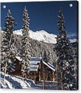 Colorado Mountain House Acrylic Print by Michael J Bauer