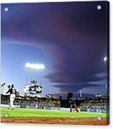 Colorado Rockies V Los Angeles Dodgers Acrylic Print