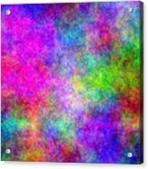 Colorful Abstract Acrylic Print