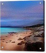 Colorful Beach Acrylic Print