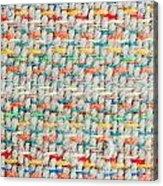 Colorful Blanket Acrylic Print
