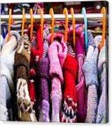 Colorful Coats Acrylic Print