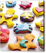 Colorful Cookies Acrylic Print