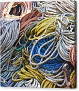 Colorful Lines Acrylic Print