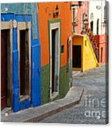 Colorful Street, Mexico Acrylic Print