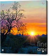 Colorful Sunset Acrylic Print