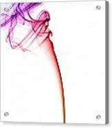 Colourful Smoke Acrylic Print
