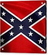 Confederate Flag 5 Acrylic Print