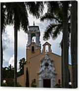 Congregational Church Of Coral Gables Acrylic Print