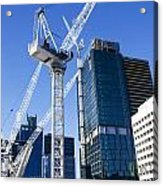 Construction City Acrylic Print