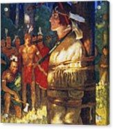 Cooper: Deerslayer, 1925 Acrylic Print