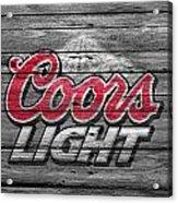 Coors Light Acrylic Print