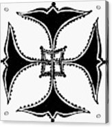 Coptic Cross Acrylic Print