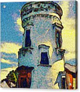 Corbiere Lighthouse Acrylic Print