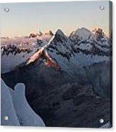 Cordillera Blanca Acrylic Print