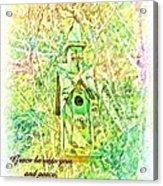 1 Corinthians 1 3 Acrylic Print