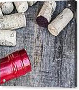 Corks With Bottle Acrylic Print