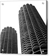 Corn Buildings Chicago Acrylic Print