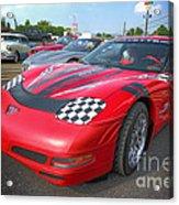 Corvette Z06 Acrylic Print