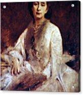 Cosima Wagner (1837-1930) Acrylic Print