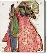 Costume Design For The Ballet La Acrylic Print
