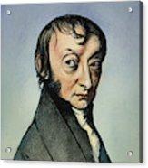Count Amedeo Avogadro (1776-1856) Acrylic Print
