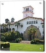 Courthouse Santa Barbara Acrylic Print