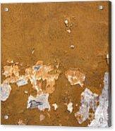Cracked Stucco - Grunge Background Acrylic Print