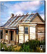 Craigs Hut Acrylic Print by Shannon Rogers