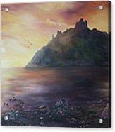 Criccieth Castle North Wales Acrylic Print