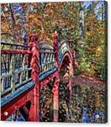 Crim Dell Bridge Acrylic Print