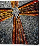 Cross Of Nails Acrylic Print